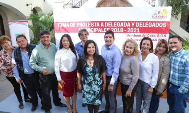 02 CIUDADANOS DE CABO SAN LUCAS, SANTIAGO Y LA RIBERA TIENEN DELEGADOS MUNICIPALES
