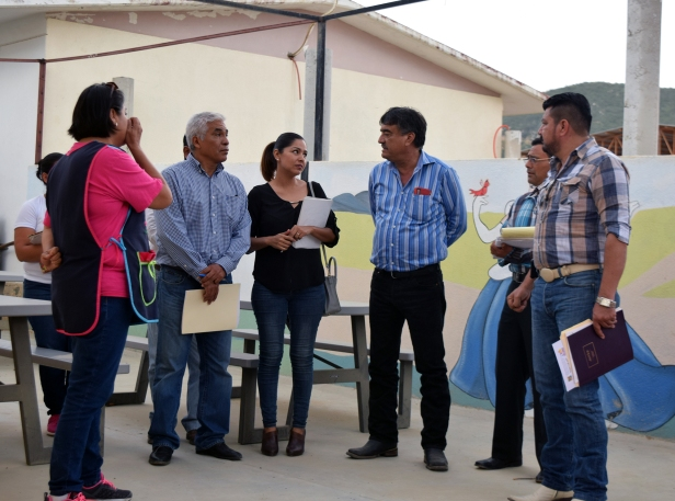 03 DELEGADO DE CABO SAN LUCAS REALIZA RECORRIDO EN LA ESCUELA DE EDUCACIÓN ESPECIAL CAM .JPG