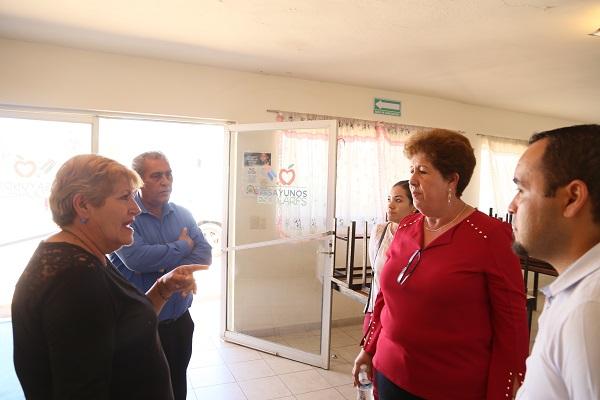 DIF Los Cabos supervisa instalaciones de desayunadores escolares 1