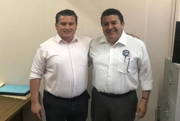 Diputado Humberto Arce y Rector de la UABCS