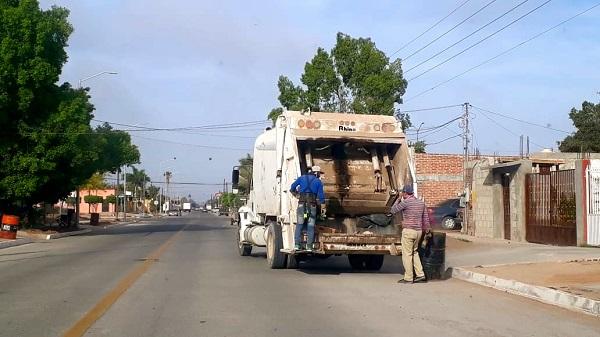 Este periodo vacacional habrá guardas en el servicio de recolección de basura