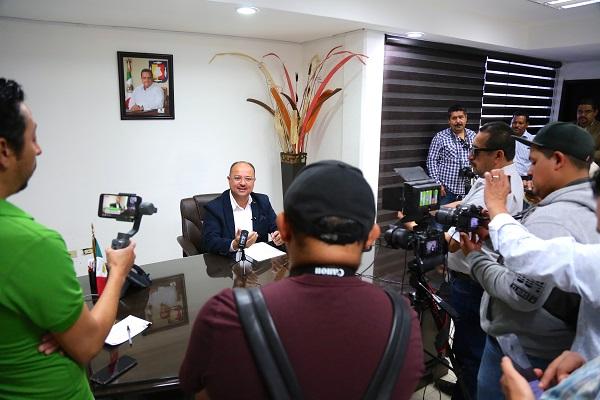 """""""Nunca hemos estado en contra de la libertad de expresión"""", Walter Valenzuela Acosta"""