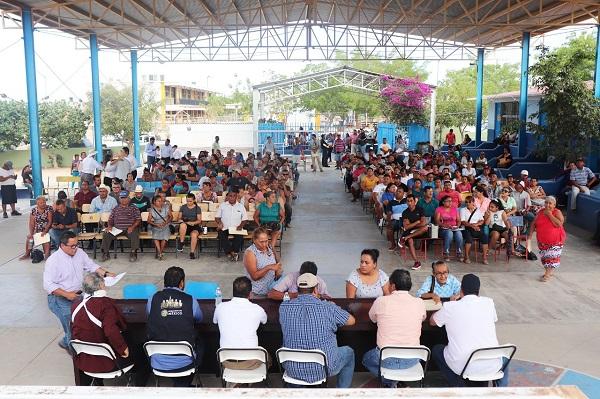 01 Continúan apoyos para las familias de CSL con programa Mejoramiento Urbano