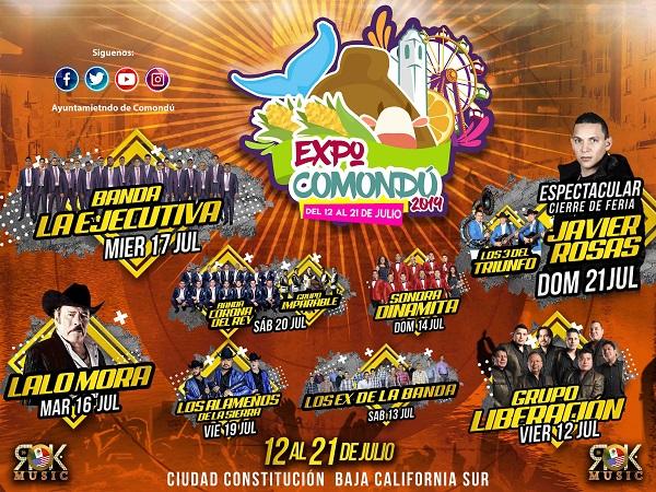 Este viernes la ingauración de la Expo Comondú 20196