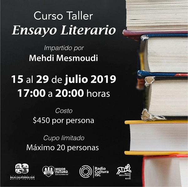 ISC_TALLER DE ENSAYO LITERARIO