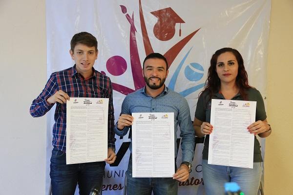 01 Invita Gobierno Municipal a participar en el Premio Municipal de la Juventud 2019