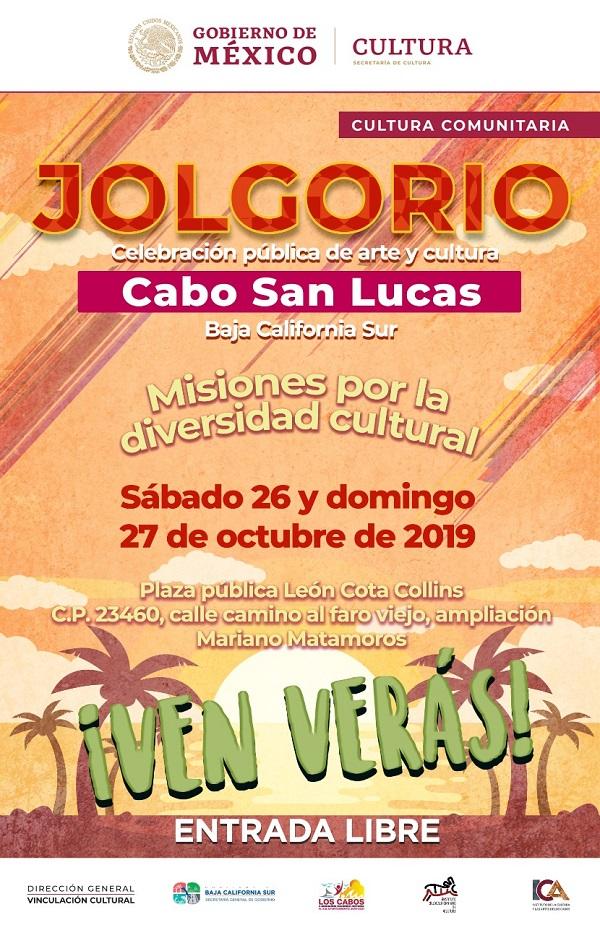 """02 Gobierno Municipal y Secretaría de Cultura te invitan al Jolgorio """"Misiones por la diversidad cultural"""""""