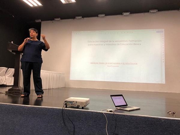 02 Inauguran ciclo de conferencias sobre Educación Sexual para personal de instituciones educativas en Los Cabos