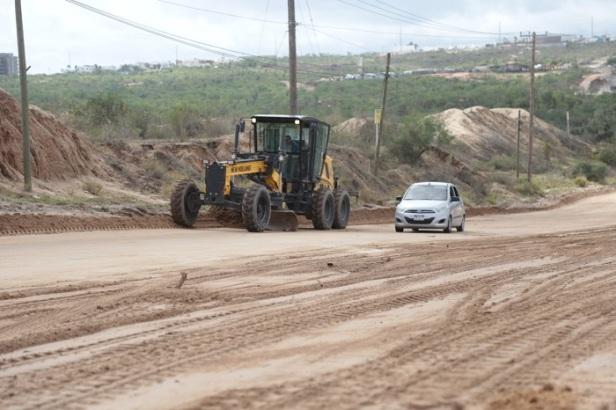 02 Servicios Públicos rehabilita las principales calles de Los Cabos después de las recientes lluvias