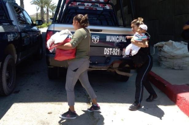 04 Policía de Los Cabos combate la violencia familiar, a lo largo de su Primer Año de Gobierno
