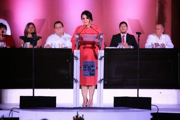 01 Ante la ciudadanía y representantes de los tres niveles de Gobierno rinde Primer Informe de Gobierno alcaldesa de Los Cabos Armida Castro Guzmán