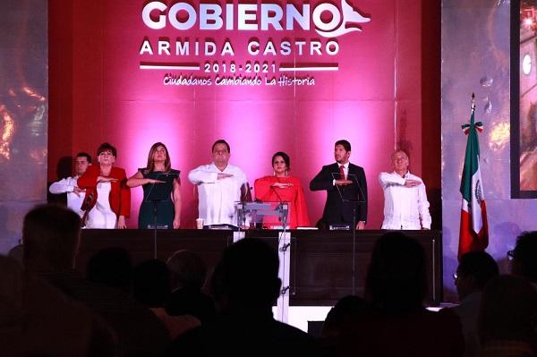 01 El sector político avala el esfuerzo realizado en este primer año de gobierno de la alcaldesa Armida Castro.