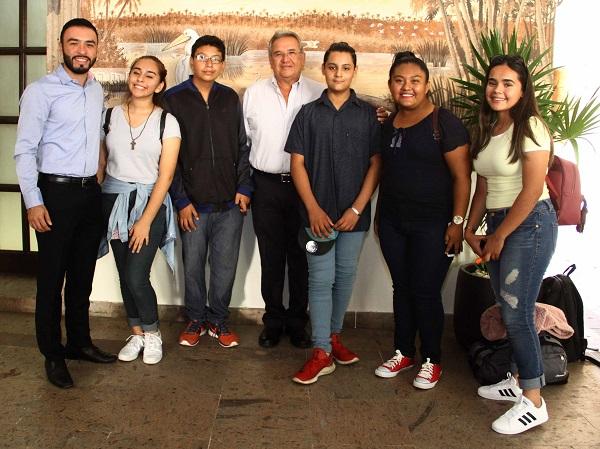 03 Jóvenes cabeños parrticipan en el 12º Parlamento de la Juventud 2019.