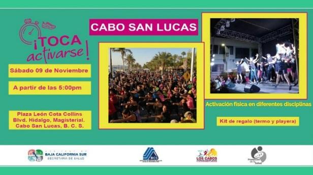 03 La Secretaría de Salud y el Gobierno de Los Cabos te invitan al evento ¡Toca Activarse!