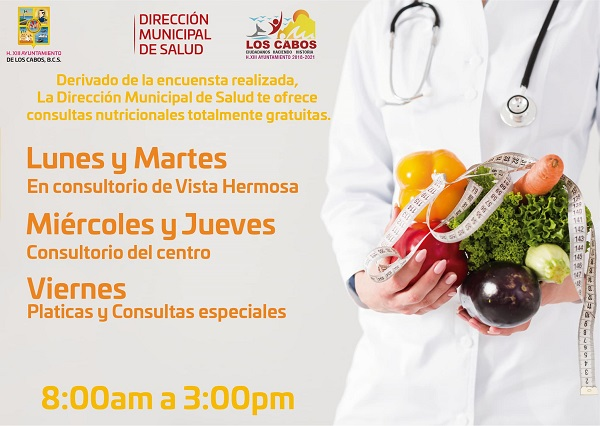 03 Ofrece Gobierno Municipal Consultas Nutricionales Gratuitas