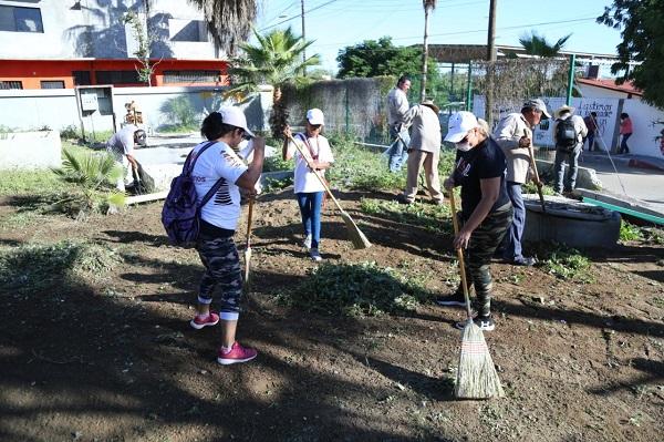 03 Servicios Públicos realiza Campaña de Limpieza en beneficio del Hospital General en San José del Cabo