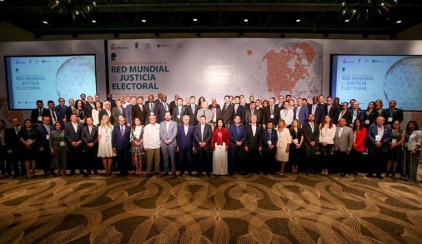 _ Con más de 107 representantes de diferentes países inauguran la Red Mundial de Justicia Electoral en Los Cabos  4.jpeg