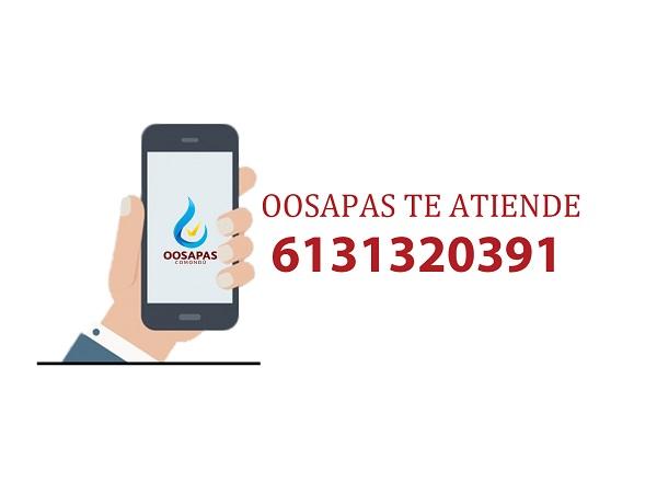 OOSAPAS pide a la ciudadania cuidar el agua y reportar fugas