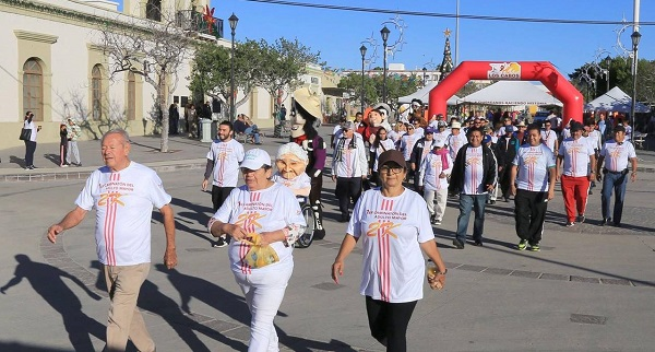 04 Próximo 07 de diciembre segunda edición del Caminatón para el Adulto Mayor en Los Cabos 2