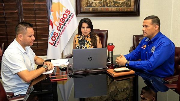 01 Los Cabos garantizará una estancia segura para que visitantes regresen sanos a su lugar de origen, Presidenta Municipal