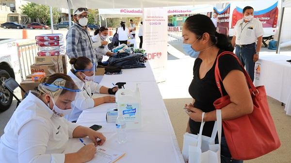 01 El Gobierno de Los Cabos acerca servicios médicos y sociales a las colonias del municipio, respetando las medidas del Sector Salud 1