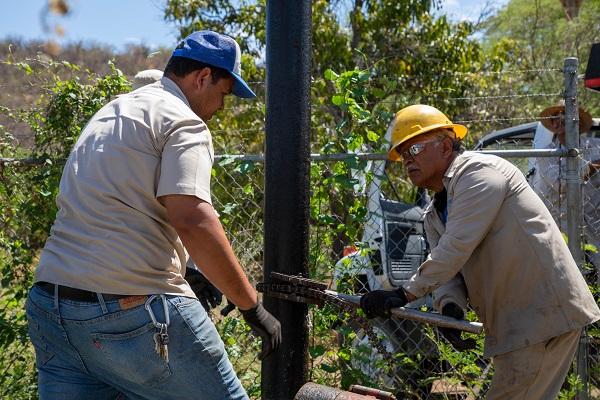 02 Gracias al Gobierno de Armida Castro, 86 mil 200 habitantes se han beneficiado con la recuperación de Pozos de Producción del Oomsapas 2