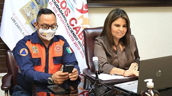 """01 Por remanentes de """"Hernan"""", Consejo Municipal de Protección Civil habilita refugios temporales en San José del Cabo y zona norte 4"""