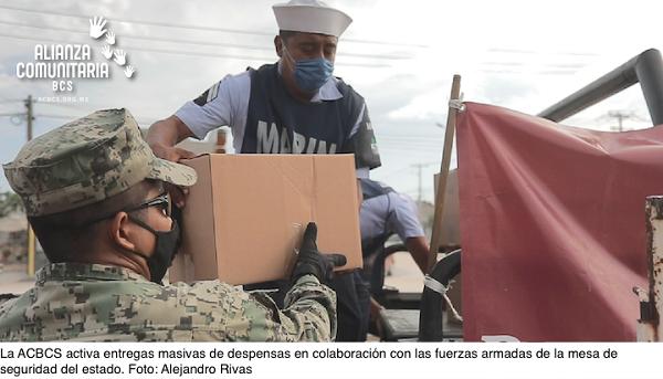 ACBCS-Activa entrega masiva de despensas en agosto - Foto Alejandro Rivas