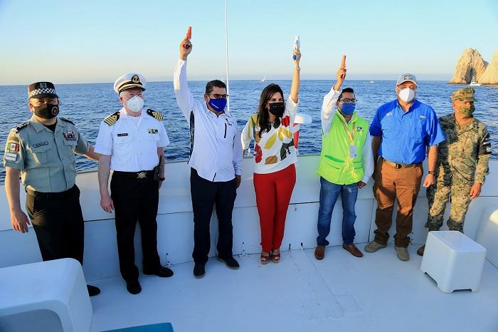 01 Con todas las medidas de higiene y sana distancia dio inicio el torneo de pesca Bisbee's Los Cabos Offshore (1)