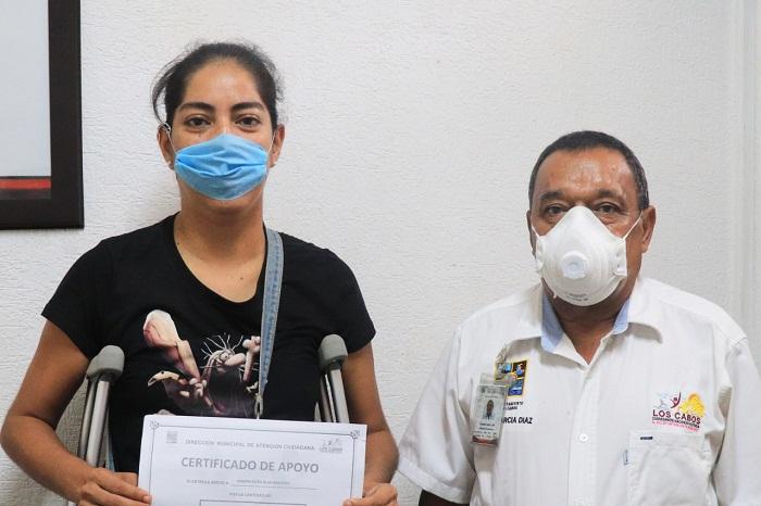 03 $40 mil pesos en apoyos se entregaron en un solo día por la coordinación de Atención Ciudadana en CSL 1