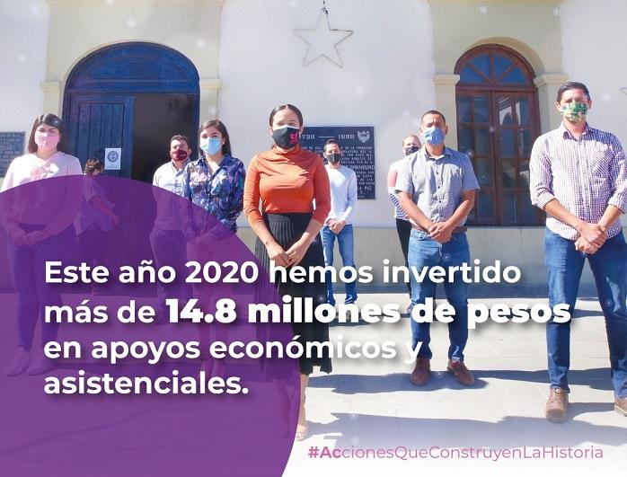 01 Este 2020 destina Gobierno de Los Cabos $14.8 millones de pesos en apoyos asistenciales y económicos