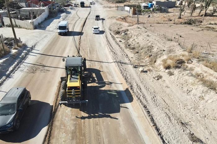 04 Se han rehabilitado más de 32 mil kilómetros de calles y caminos de terrecería en Los Cabos 1