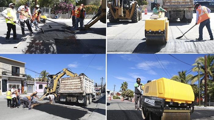 05 A petición de la ciudadanía, instala Obras Públicas reductores de velocidad en la colonia Chamizal San José del Cabo (1)